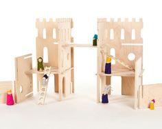 modular castle by Manzanita kids, Remodelista