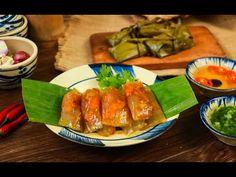 How to make Bánh Bột Lọc Huế/Vietnamese clear shrimp & pork dumpling Vietnamese Cuisine, Dumpling, Fresh Rolls, Banquet, Asparagus, Shrimp, Pork, Food And Drink, Keto