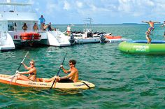 Key West Shore Excursion: Ultimate Express Water Adventure If you're a cruise passenger only in Key West for a day, don't miss out on the express power catamaran, immerse yourself in nature as you swim in the warm, clear waters among schools of tropical fish, soar above the water on a parasail, ride jet skis and more. This trip is packed with activities to satiate adventurous water lovers!While you're in port in Key West, get out on the water aboard the power express catamara...