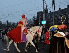 Sinterklaas celebration in the Netherlands