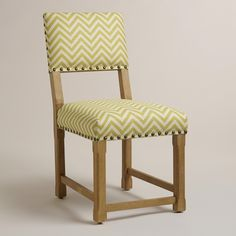 Citron Split Back Chair   World Market
