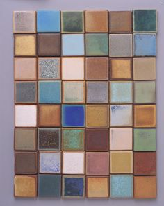 could a gate be made out of different tiles?  made Ceramic Tile. Chris Gustin.