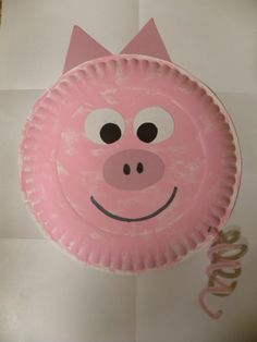 This is a fun art activity that I did in a preschool class called Paper Plate Pig. Easy and not very time consuming. & Pig paper plate craft. Charlotteu0027s Web farm theme. | Crafts Kids ...