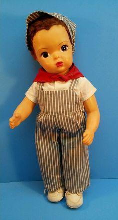 VINTAGE JERRI LEE  TERRI LEE DOLL ENGINEER OUTFIT !! #Dolls