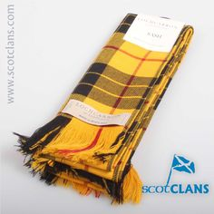MacLeod Tartan Sash. Free worldwide shipping available.