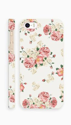 Vintage Flower Pattern Case for iPhone