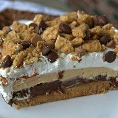 Chocolate Peanut Butter Dream Bars Recipe - ZipList