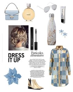 """Untitled #3"" by michalcon ❤ liked on Polyvore featuring Tory Burch, Moschino, Acne Studios, Gap, Chanel, Bobbi Brown Cosmetics, S'well and Forever 21"
