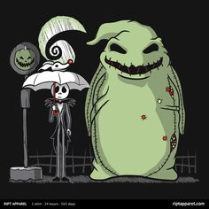 My Neighbor Oogie | A Nightmare Before Christmas and My Neighbor Totoro waiting…