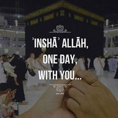 InshaAllah! Waiting for the day!!