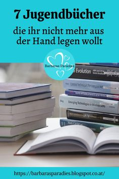 Für Jugendbuch-Fans verrate ich auf meinem Blog 7 Bücher, die du nicht mehr aus der Hand legen willst! Viel Spaß beim Stöbern!