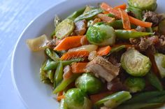 Sauteed Mixed Vegetables - Mely's kitchen