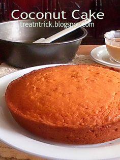 Coconut Cake @ http://treatntrick.blogspot.com