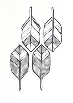 Pfeile Abbildung MADE TO ORDER geometrisches von lightboxing