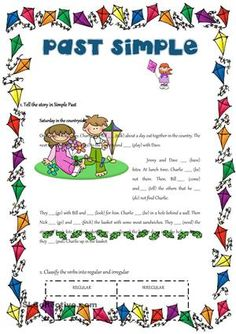 Coping Skills Worksheets Pdf Pdf Students Write The Simple Past Tense Of Underlined Verbs Also  Simplifying Expressions Worksheet With Answers Excel with Daily Edit Worksheets Word The Students Have To Fill In The Gaps And Then Classify The Verbs Find  This Pin And More On English Worksheets  Fun 1st Grade Worksheets Excel
