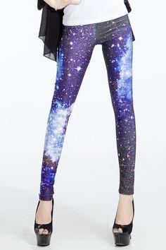 Galaxy Stars #Leggings #legs #tights ::$45