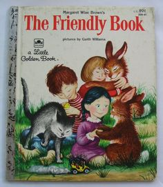 The Friendly Book Vintage Little Golden Book by by TheVintageRead, $5.35