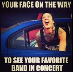 I'm going to see Of Mice & Men and Bring Me The Horizon tomorrow! So excited!