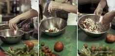Chef Eudokia Despotidou cooking