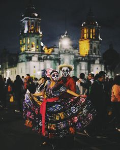 """Day of the Dead found Mexican photojournalist Iván ""Chad"" Santos (@elchadsantos) at a very early age. ""When I was four or five years old, I was told that…"""