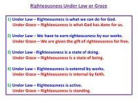 Grace and not law is what Christians need to live by. The word of God and not the word of man is what saves. Because of the Pastor's confidence in the biblical message he was preaching, everybody in the church learnt a valuable lesson in the whole episode. The Word works. The Spirit teaches. Christ redeems. So why do men, movements and churches add guidelines to the prescribed life style of scripture?  Do they not have a similar confidence in the inspiration of the Bible and the exposi