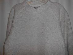 THE TERRITORY AHEAD Men Size S Small Tan/Beige Long Sleeve Cotton/Polyester #TheTerritoryAhead #Crewneck