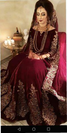 Asian Bridal Dresses, Asian Wedding Dress, Pakistani Wedding Outfits, Indian Bridal Outfits, Pakistani Bridal Wear, Pakistani Wedding Dresses, Wedding Dresses For Girls, Pakistani Dress Design, Party Wear Dresses