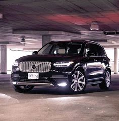 One of the better angles of the new XC90.