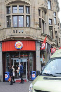Burger King Spuistraat 72 Street View, King