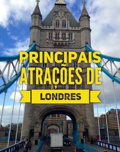 Atrações de Londres | Tirando Férias | Blog de Viagens