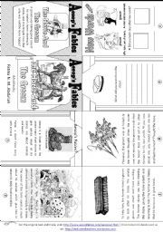 Horse Research foldable for middle school students