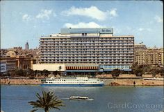 Cairo Nile Hilton Hotel and the Isis Floating Hotel
