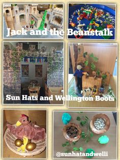 Enhancements to continuous provision for Jack and the Beanstalk during a castle topic.