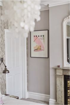 The Best Paint Colors: 10 Farrow & Ball Not-Boring Neutrals: Cornforth White is a warm gray that's anything but boring.