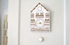 How to make printable cuckoo clock