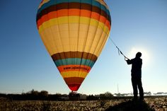 Hot air balloon rides Alentejo