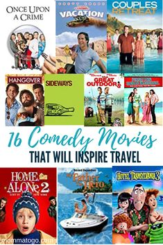 The 16 Best Comedy Movies to Inspire Travel - Momma To Go Travel Vegas Vacation, Las Vegas Trip, Travel Movies, Travel Books, Travel Tips, Travel Destinations, Good Comedy Movies, Funny Movies, Transylvania Movie