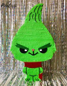 Crochet Toys Patterns, Stuffed Toys Patterns, Doll Patterns, How To Make Pinata, Crochet Monsters, Crochet Dragon, Grinch Christmas, Homemade Toys, Ideas Para Fiestas