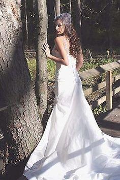 Classy Mermaid Trumpet style wedding gown