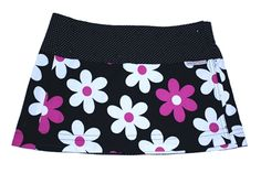 Sweet Spot Skirts  A Flirty and Practical Skirt for the Active Woman!  Each skirt fits a range fits Size 2 to 14 and is reversible (meaning you are really getting 2 skirts in 1). Sweet Spot® Skirts are long enough to cover, yet short enough to stay out of the way!