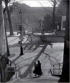 Willy Ronis, Avenue Simon-Bolivar, Paris, 1948