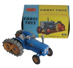 Lot 122 – Corgi Toys Boxed 54 Fordson – Vintage Toys & Militaria Sale - Live internet & Postal Auction Only 02 Oct 2013 http://www.candtauctions.co.uk/