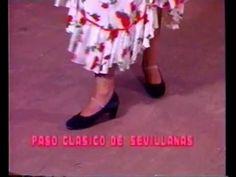 """""""CLASES DE SEVILLANAS"""" 1ª PARTE """"OLE FLAMENCO"""" TERESA GUERRA""""T.V MIAMI F..."""