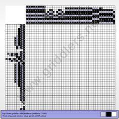 Griddlers Puzzle 176941 Rib Vault in Teltsch (Czech Republic)