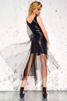 Эротическое платье со шлейфом черное Me Seduce MeS_Jasmin, купить за 3410руб. в интернет магазине!