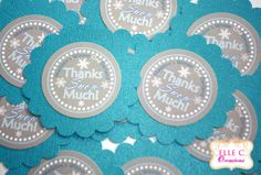Winter ONEderland birthday favor tags