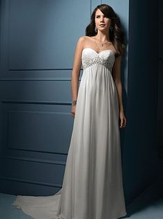 long sleeve wedding dress   pregnant bride this dress is for sale ...