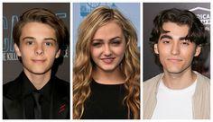 """Mostly Ghostly 3"" Cast: Corey Fogelmanis, Sophie Reynolds"
