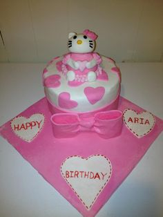 Hello Kitty Bling CAKE By annemarie40 on CakeCentralcom Cakes and