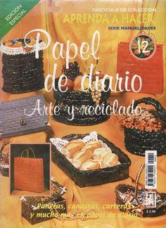 Revistas de Manualidades Para Descargar: Papel de Diario Nº 12